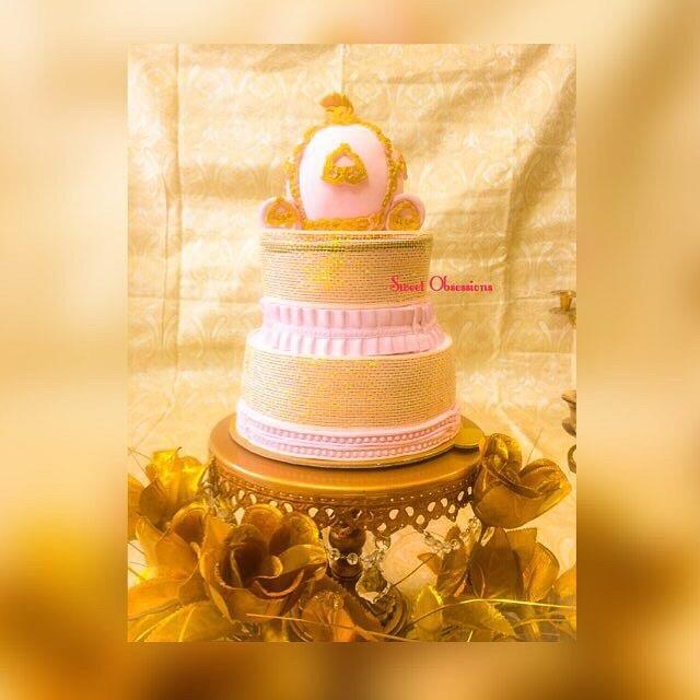 Cinderella's Carriage Cake