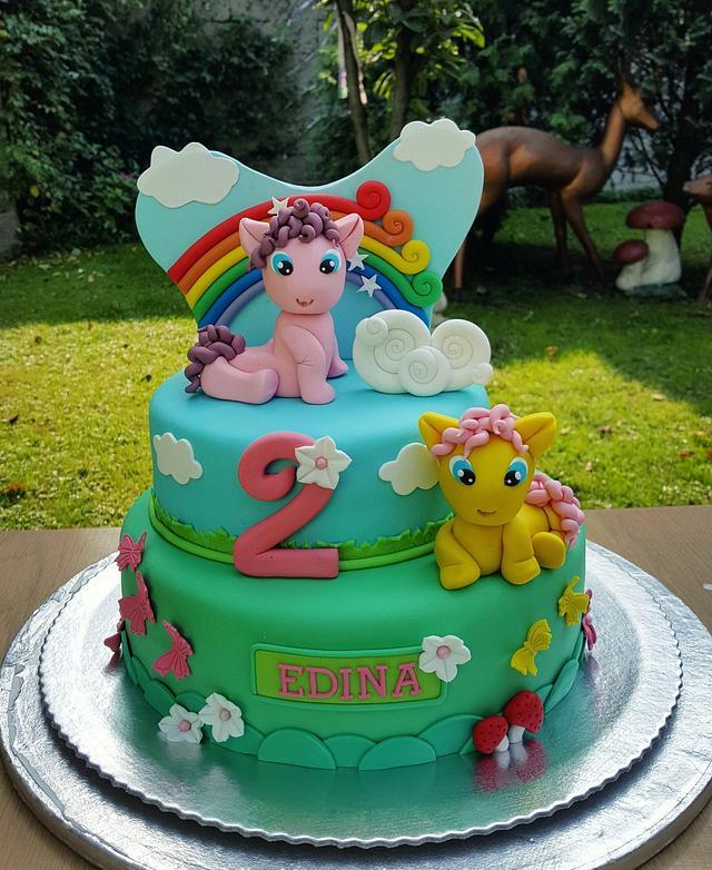 My litttle pony cake