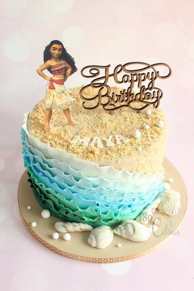 Moana - Birthday Cake