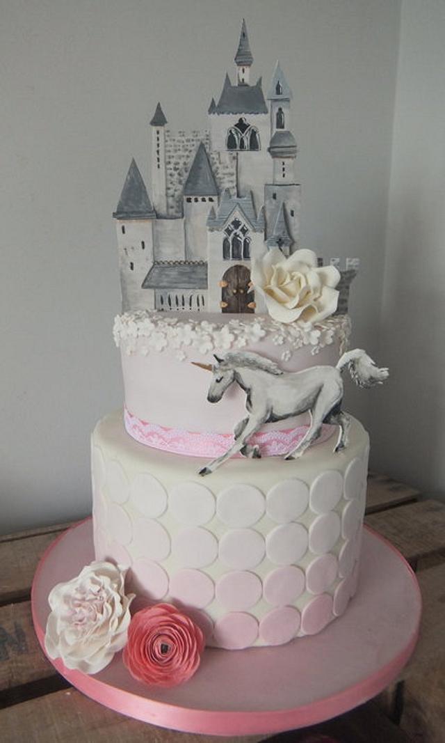 Enjoyable Princess Themed Birthday Cake Cake By Sugar Spice Cakesdecor Funny Birthday Cards Online Inifofree Goldxyz