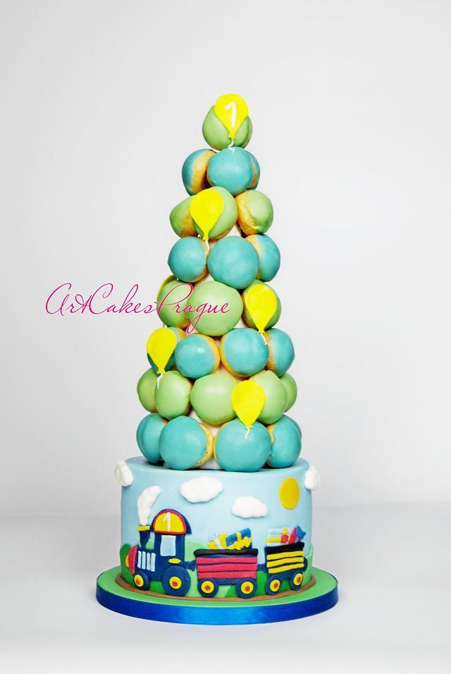 Croquembouche 1-birthday Cake