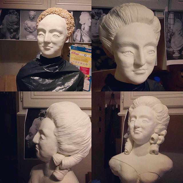 Queen Marie Antoinette cake