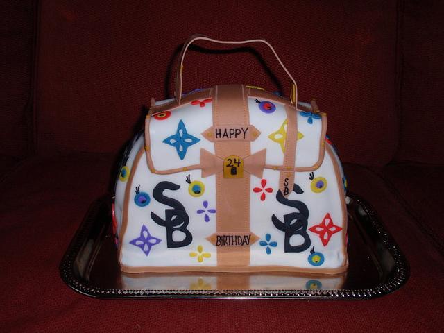Louis Vutton Cake Purse
