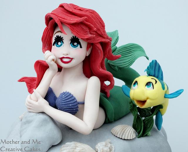 A Little Mermaid Cake