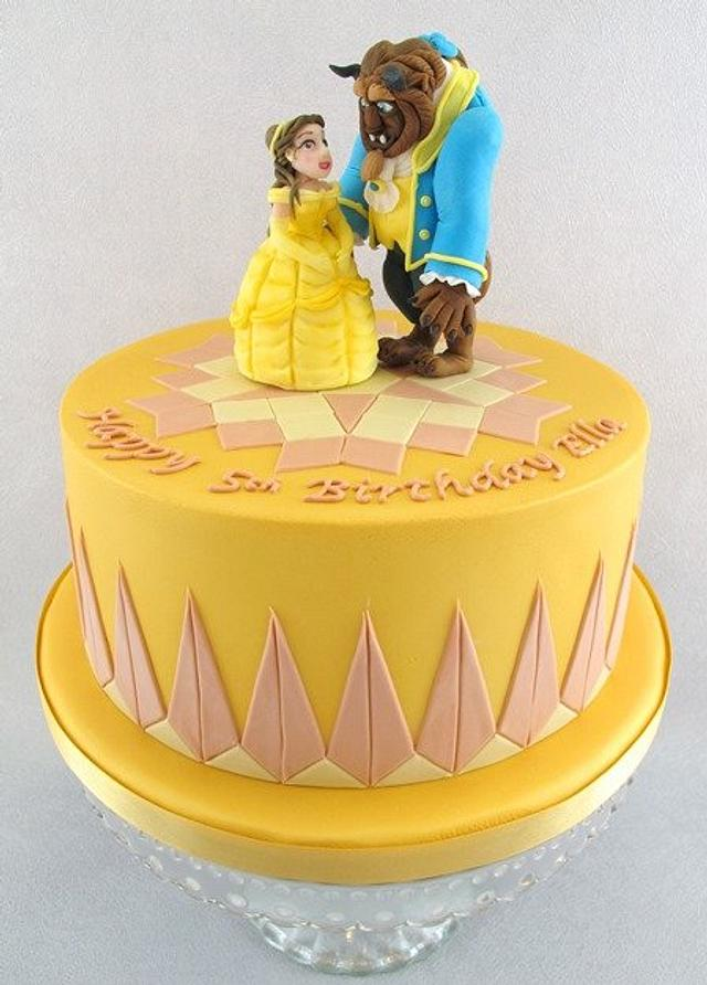 Fine Beauty And The Beast Birthday Cake Cake By Natasha Cakesdecor Funny Birthday Cards Online Elaedamsfinfo