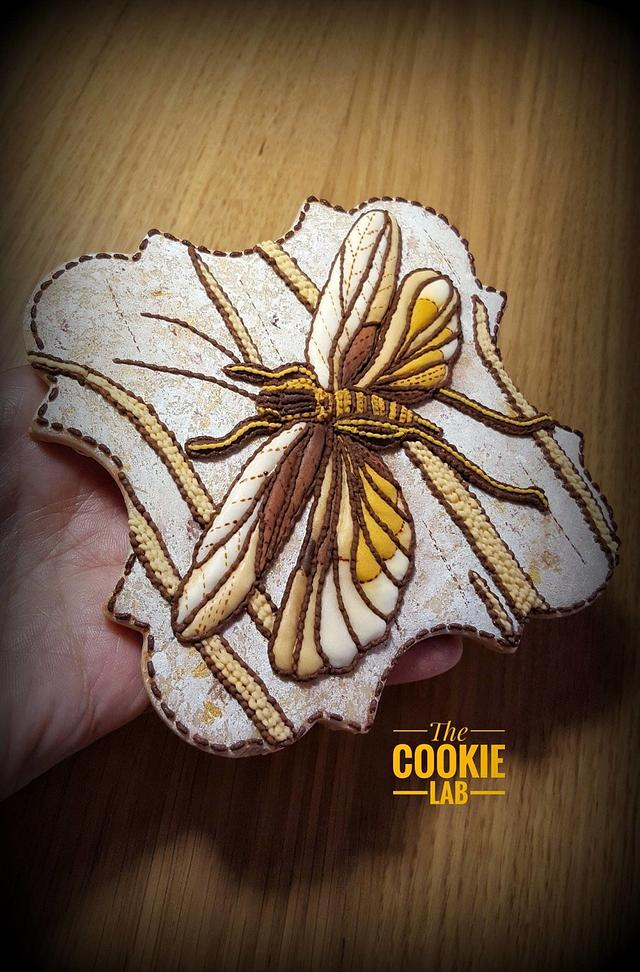 Stitches and Patchwork.... on a cookie!