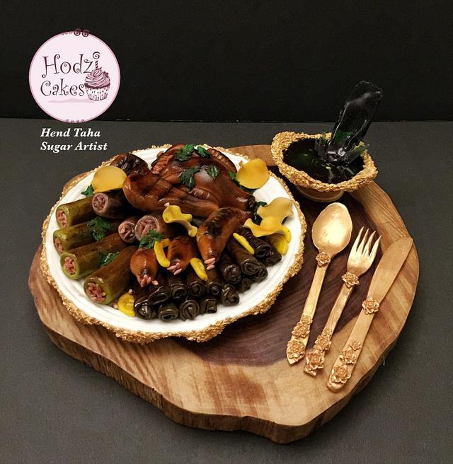 Mahshi & Molokhya - Bakerswood Food Challenge