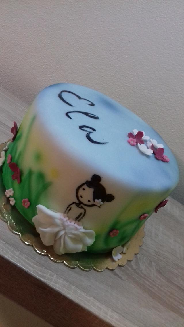 Sweet girl cake