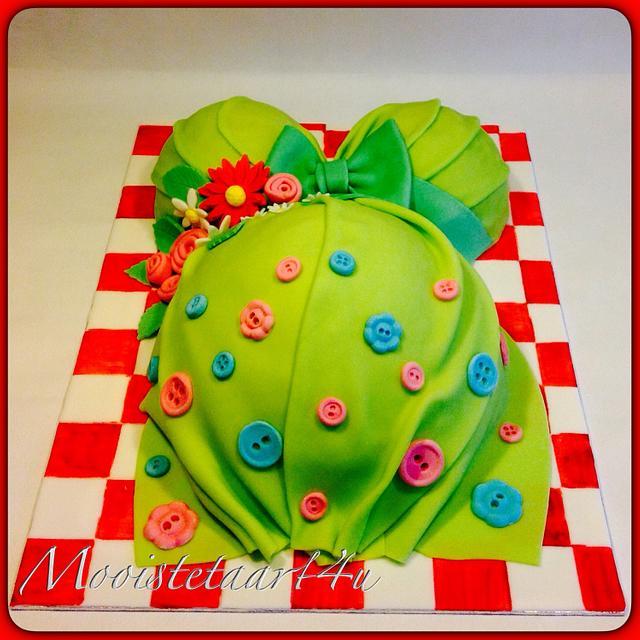 'Belly cake'...