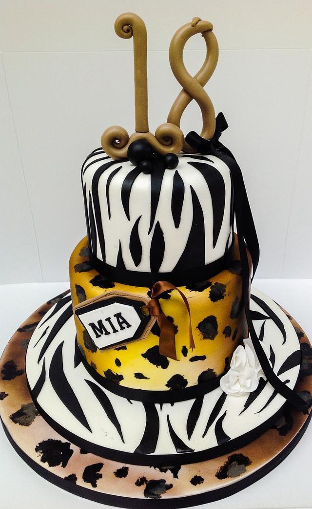 Outstanding 18Th Birthday Cake Cake By Samanthas Cake Design Cakesdecor Personalised Birthday Cards Petedlily Jamesorg