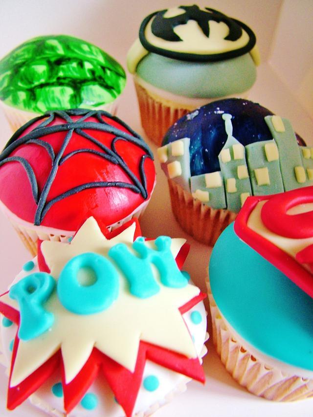 POW Super Cupcakes