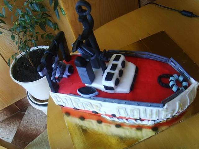Ship cake