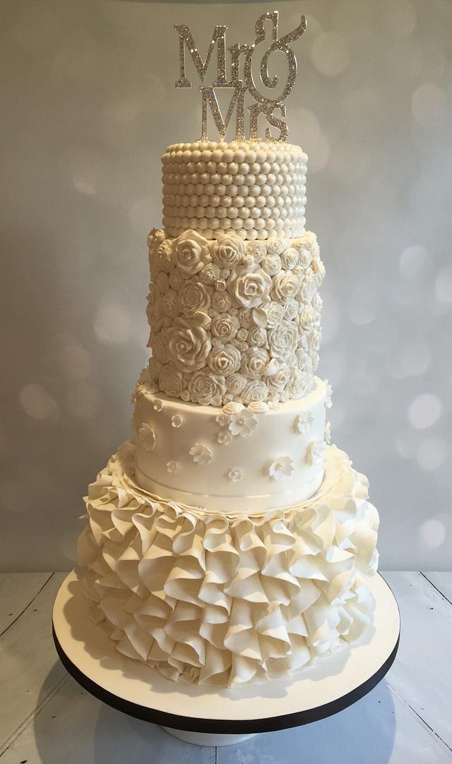 new frills cake