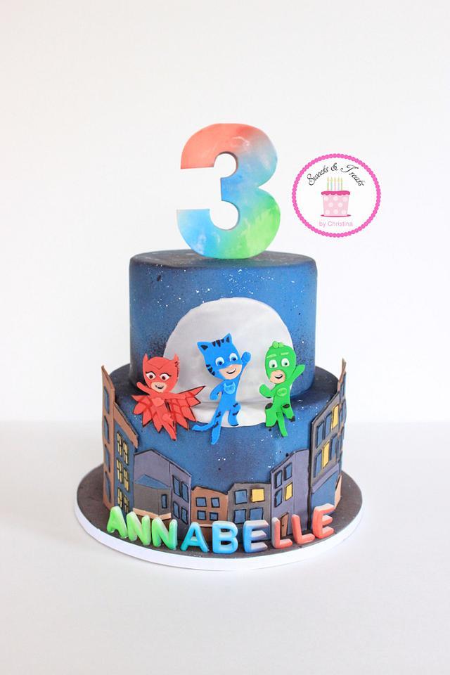 pj masks cake - cakesweets and treatschristina