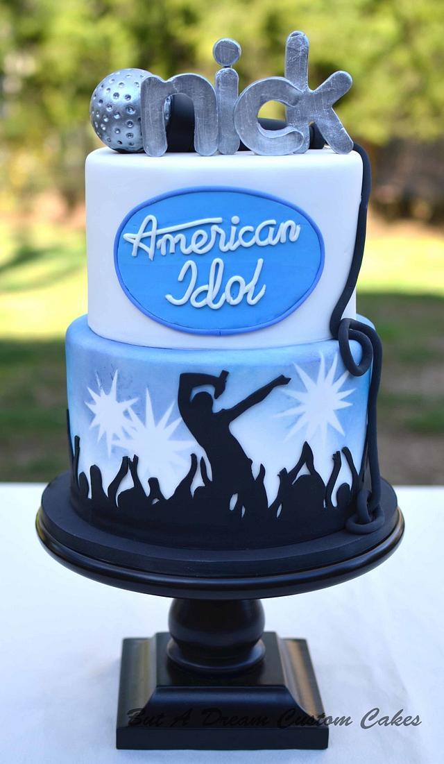 American Idol Cake