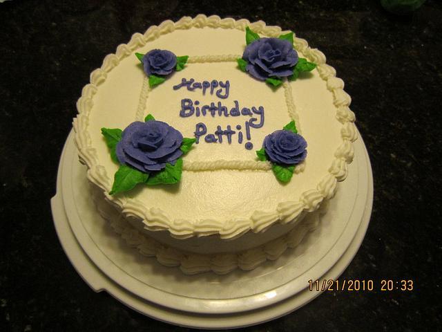 Simple Rose Cake
