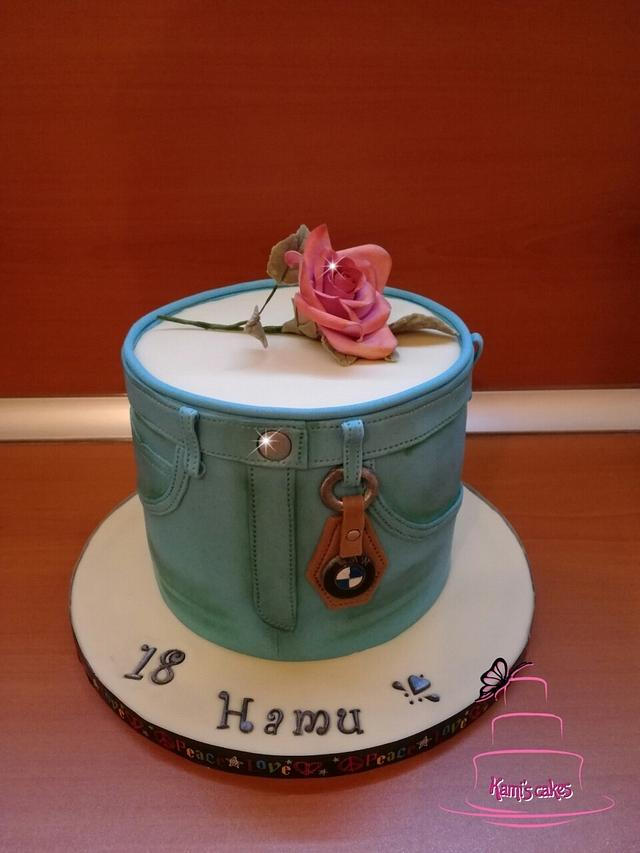 Cake for a girl's birthday