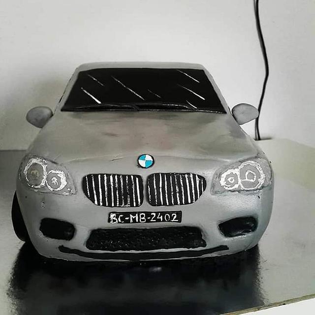 BMW 3D cake