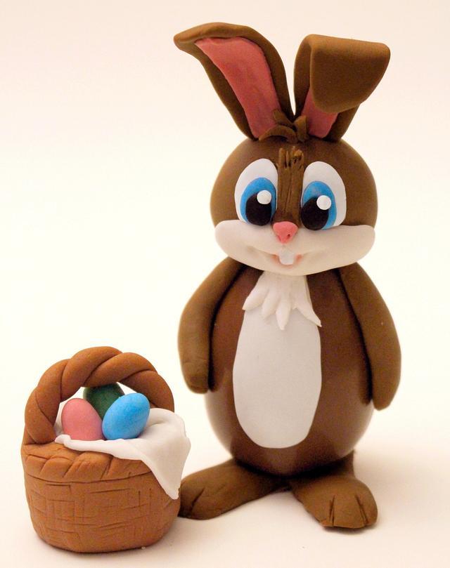 Conigliovetto Pasquale (Chocolate Easter Bunny)