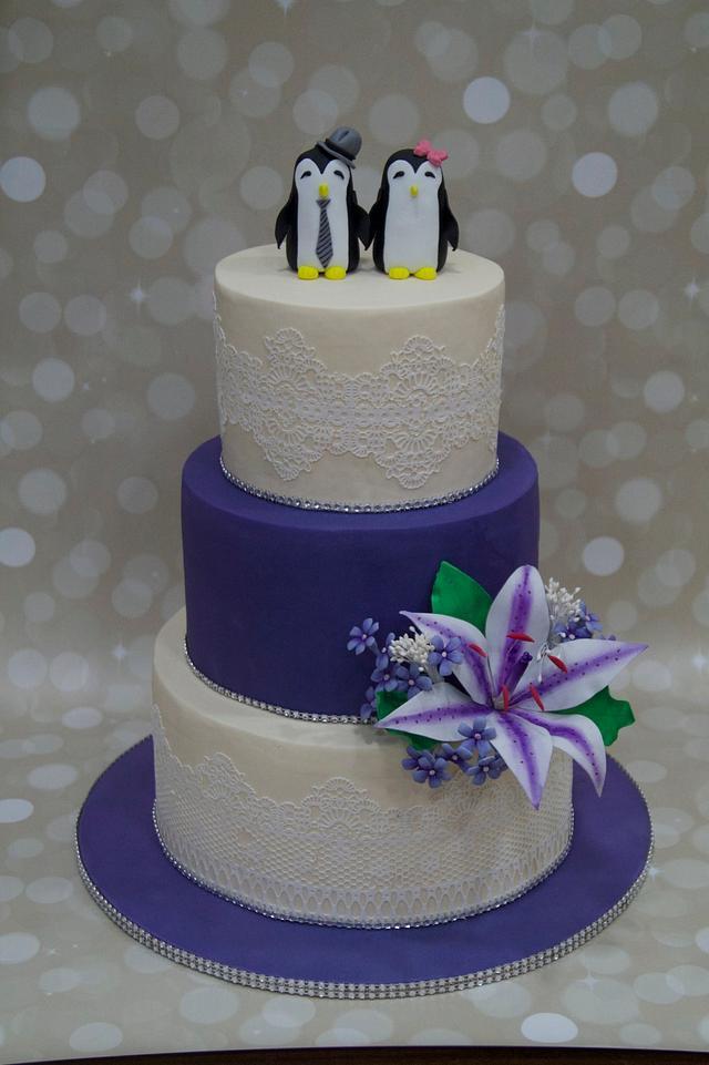 """Wedding Penguins """