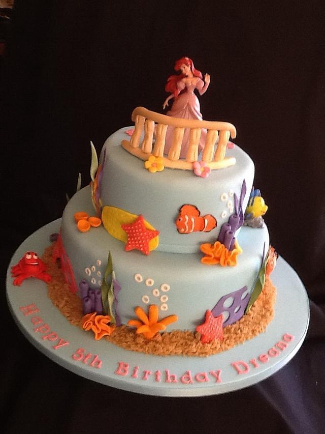 Princess Ariel cake....