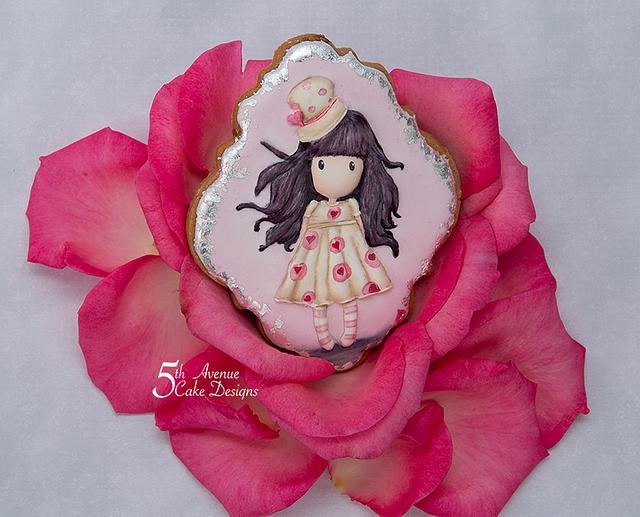 Edible Valentines Cookie Card