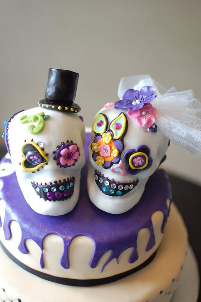 A bit of a different wedding cake