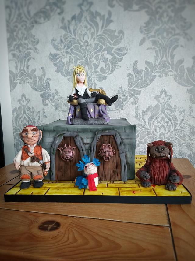 Labyrinth cake