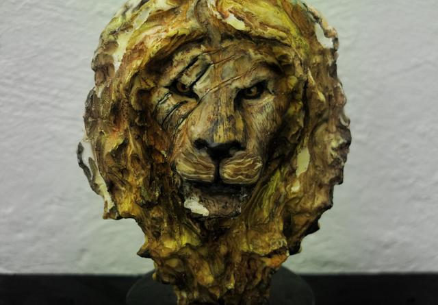 Lion bust cake ( THE KING )