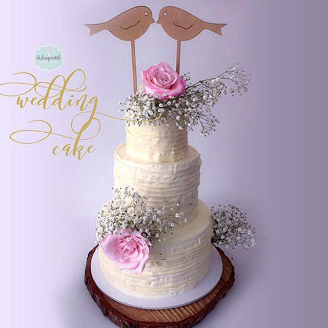 Torta de Bodas Medellín Weddin Cake