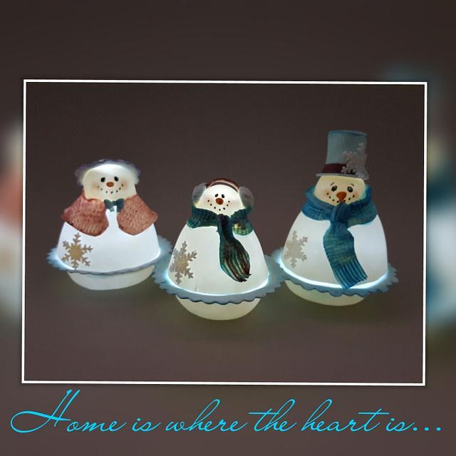 Dazzling Winter Family