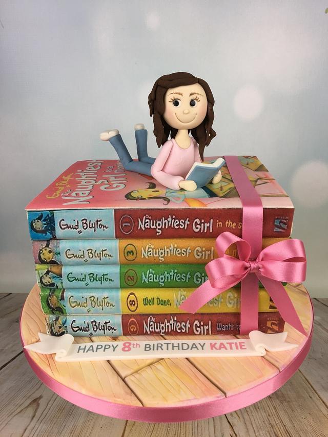 The Naughtiest girl birthday cake