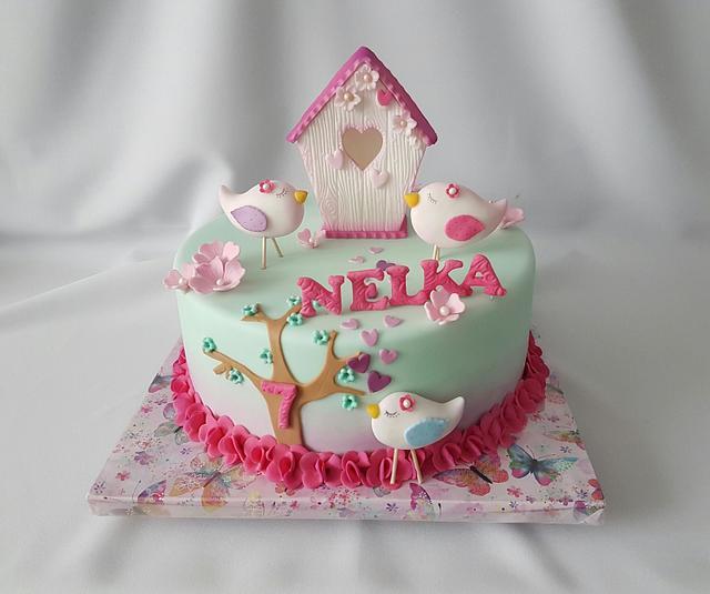 Bird cake for Nelka