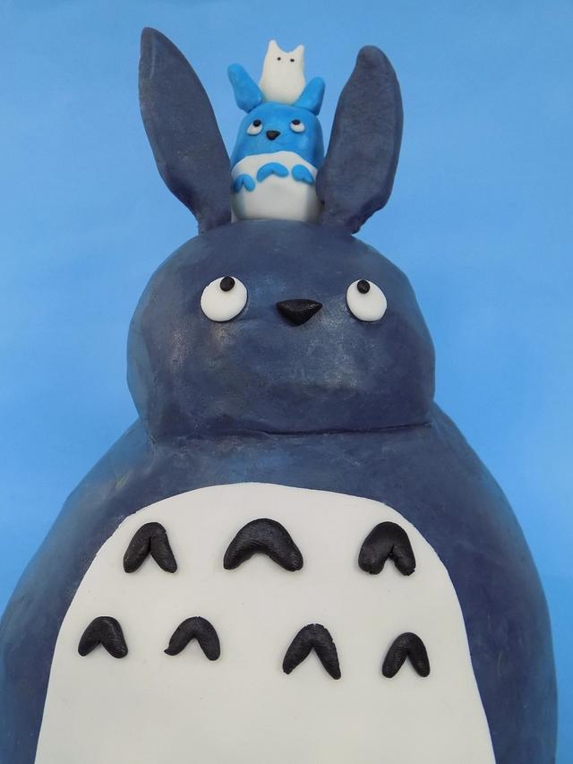 Mi vecino Totoro- Studio Ghibli Cake Collaboration