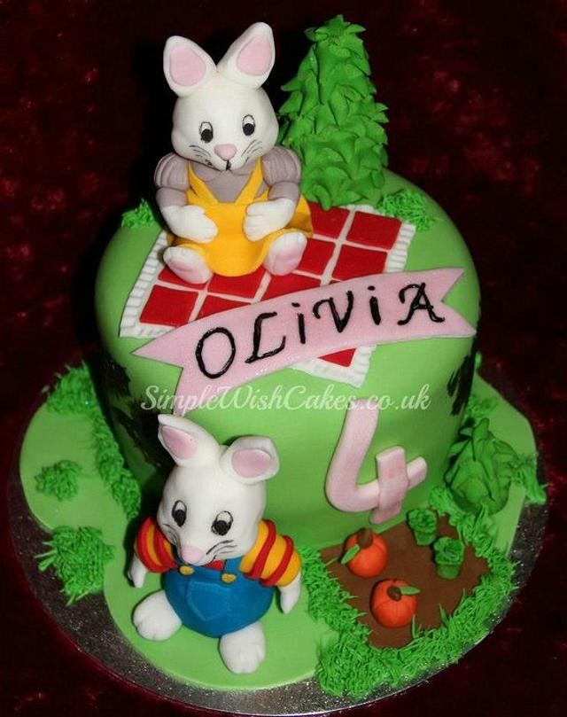 """Max and Ruby"" Birthday Cake"