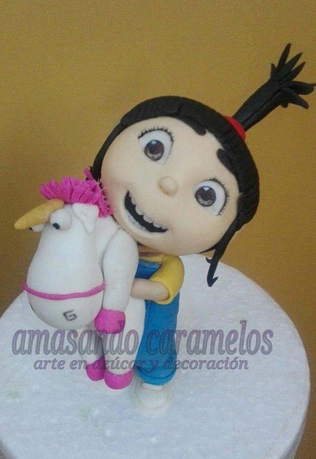 Modelado Agnes (mi villano favorito)