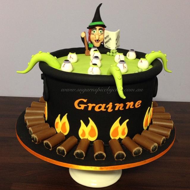 Witch Birthday Cake