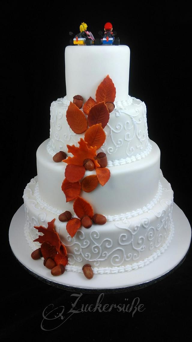 Super Mario Weddingcake