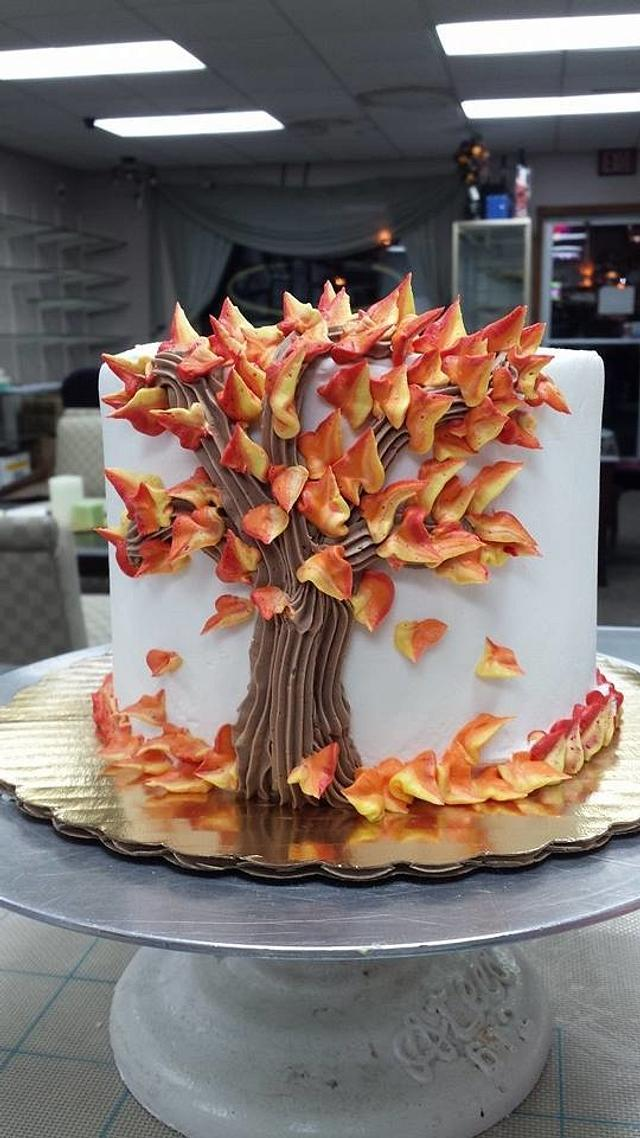Simple Fall Cake