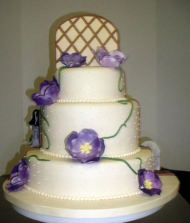 Elegant Zombie Engagement Cake (Parts 1 & 2)