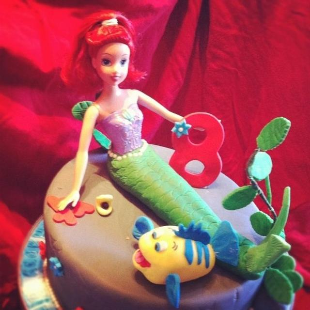 Little Mermaid 8th Birthday