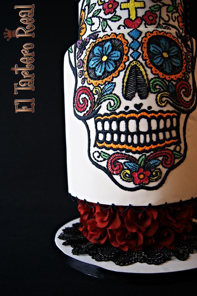 """K-trina"" for Sugar Skull Bakers collaboration"
