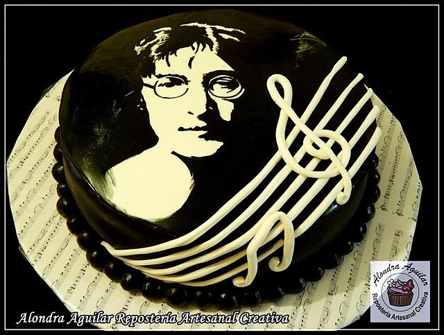 John Lennon Cake