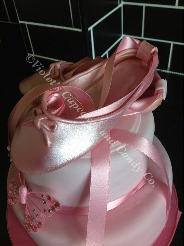 Pretty Pink Ballet Shoes
