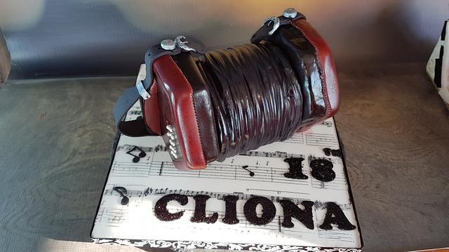 Concertina cake
