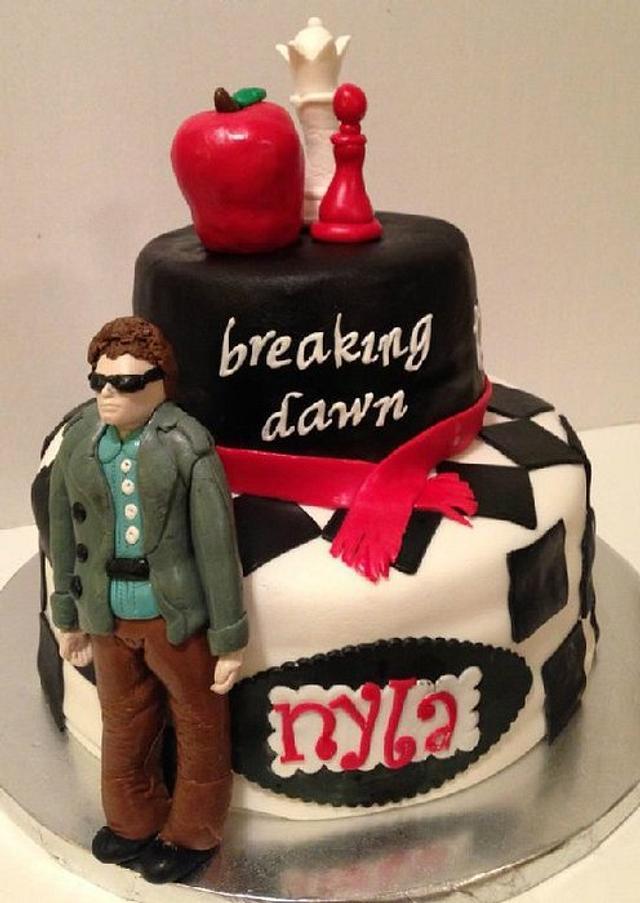 Super Twilight Birthday Cake Cake By Teresa Markarian Cakesdecor Funny Birthday Cards Online Overcheapnameinfo