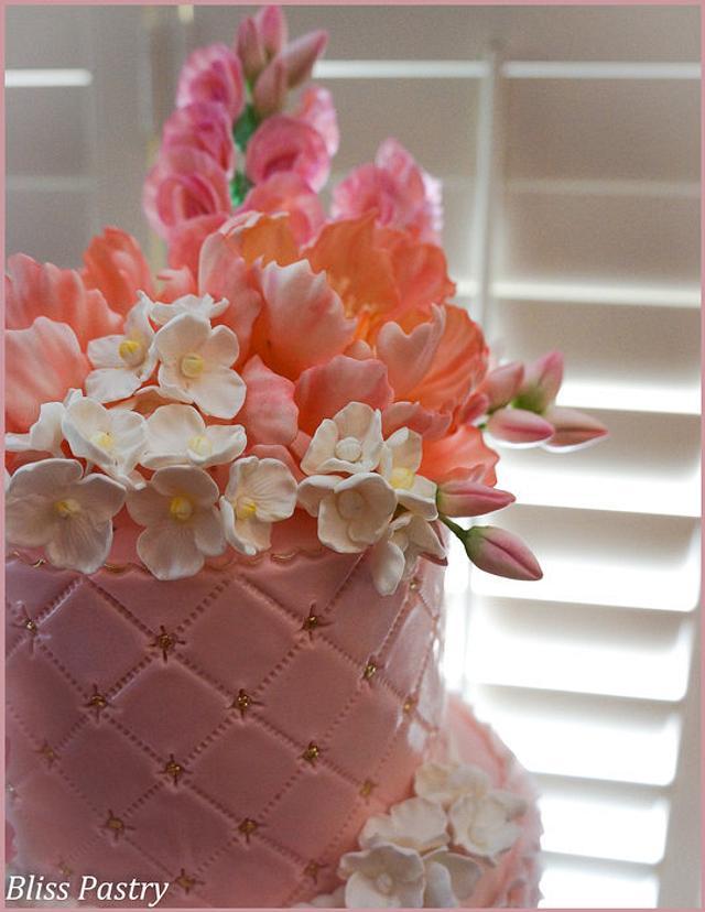 Blush Pink and Peonies
