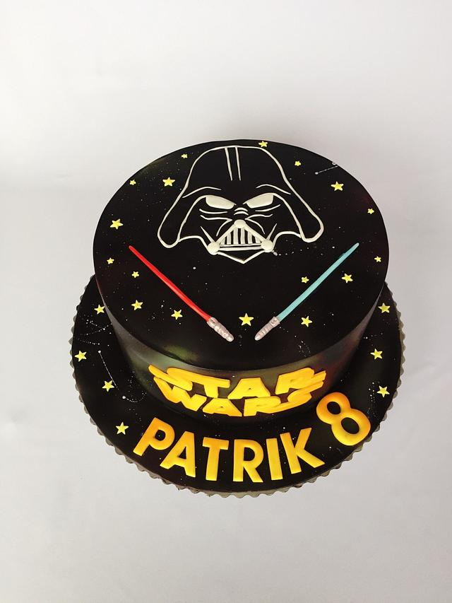 Groovy Star Wars Birthday Cake Cake By Layla A Cakesdecor Personalised Birthday Cards Paralily Jamesorg