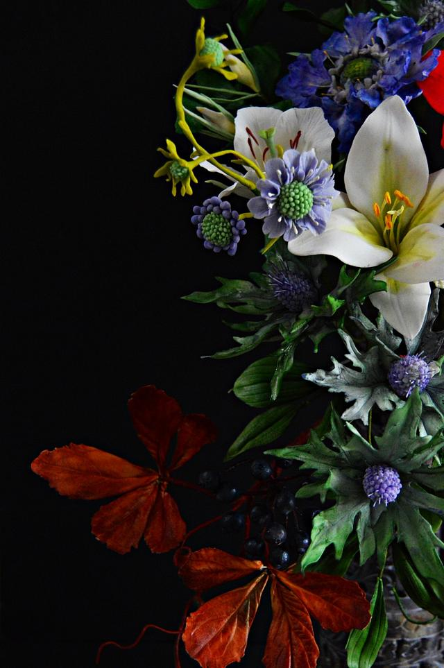 #worldcancerday Sugarflowers And Cakes In Bloom Collaboration- Light In Darkness