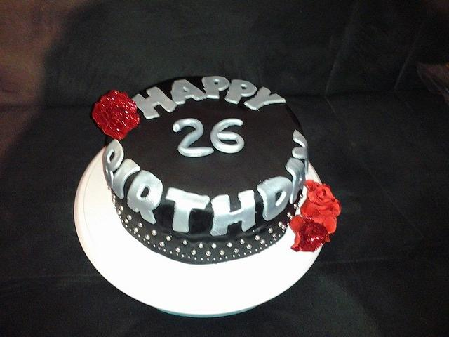 Strange Happy 26 Birthday Cake By Lianna Yummy Cakes And Cakesdecor Funny Birthday Cards Online Necthendildamsfinfo